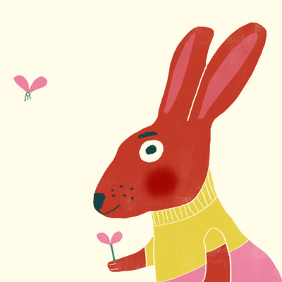 Heidi Hare animal character for Childrens picture book