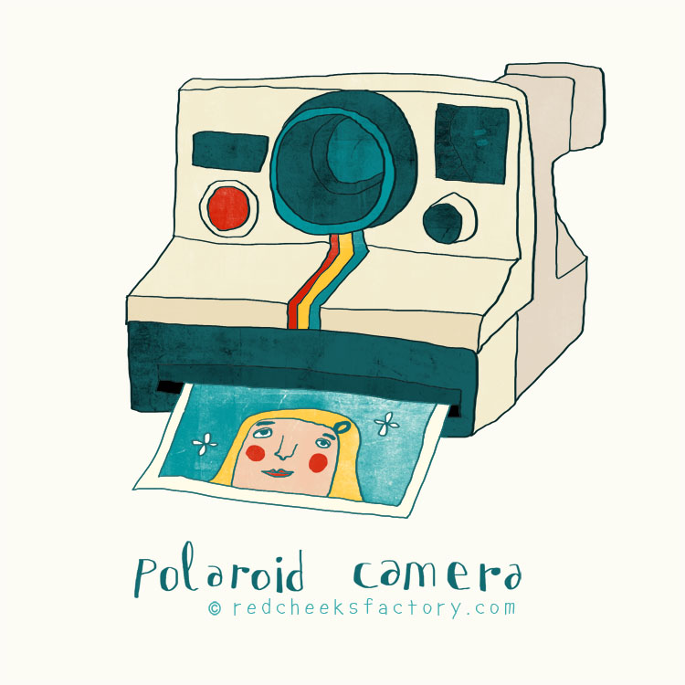 Polaroid Camera by Nelleke Verhoeff