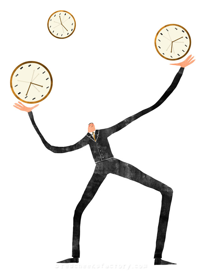 Time Management illustration 2 - Nelleke verhoeff