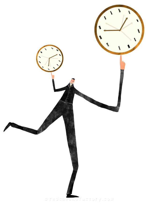 Time Management illustration 3 - Nelleke verhoeff