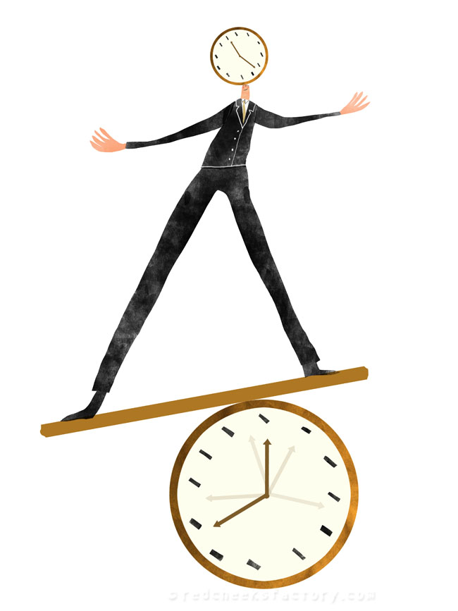 Time Management illustration 4 - Nelleke verhoeff