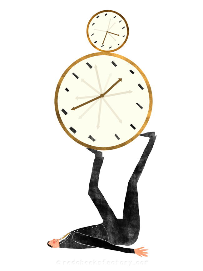Time Management illustration 5 - Nelleke verhoeff