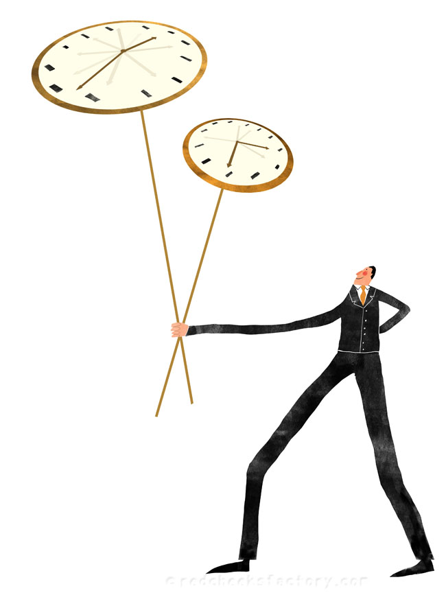 Time Management illustration 6 - Nelleke verhoeff
