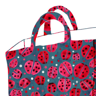 lady bug animal pattern