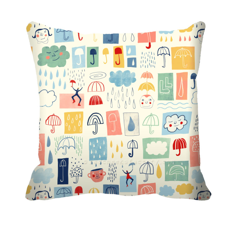 Umbrella Mix Cushion Nelleke Verhoeff