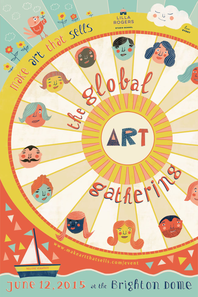 Poster Global Art Gathering