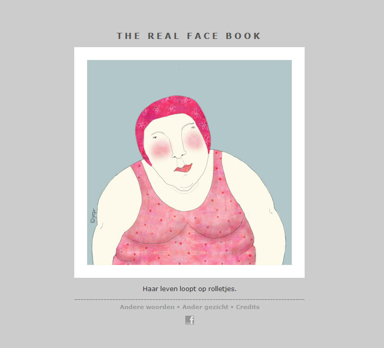 THE REAL FACE BOOK 17