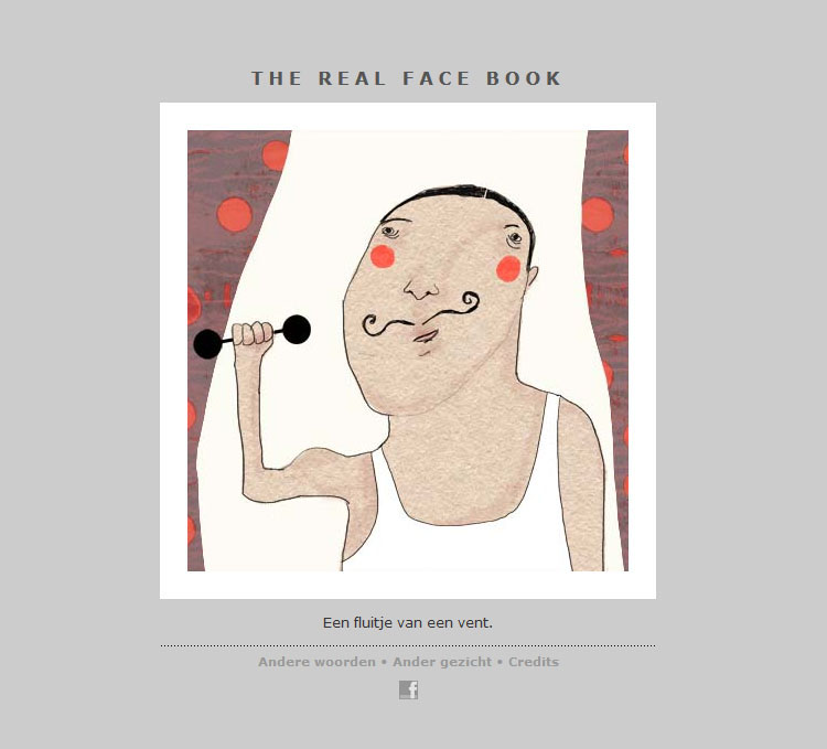 THE REAL FACE BOOK 9